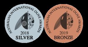 Australian International Olive Awards 2018 and 2019
