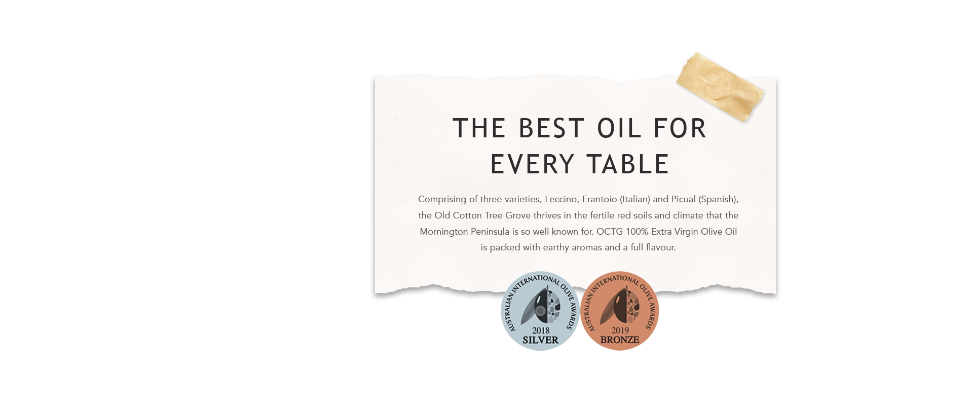 The Best Oil for Every Table